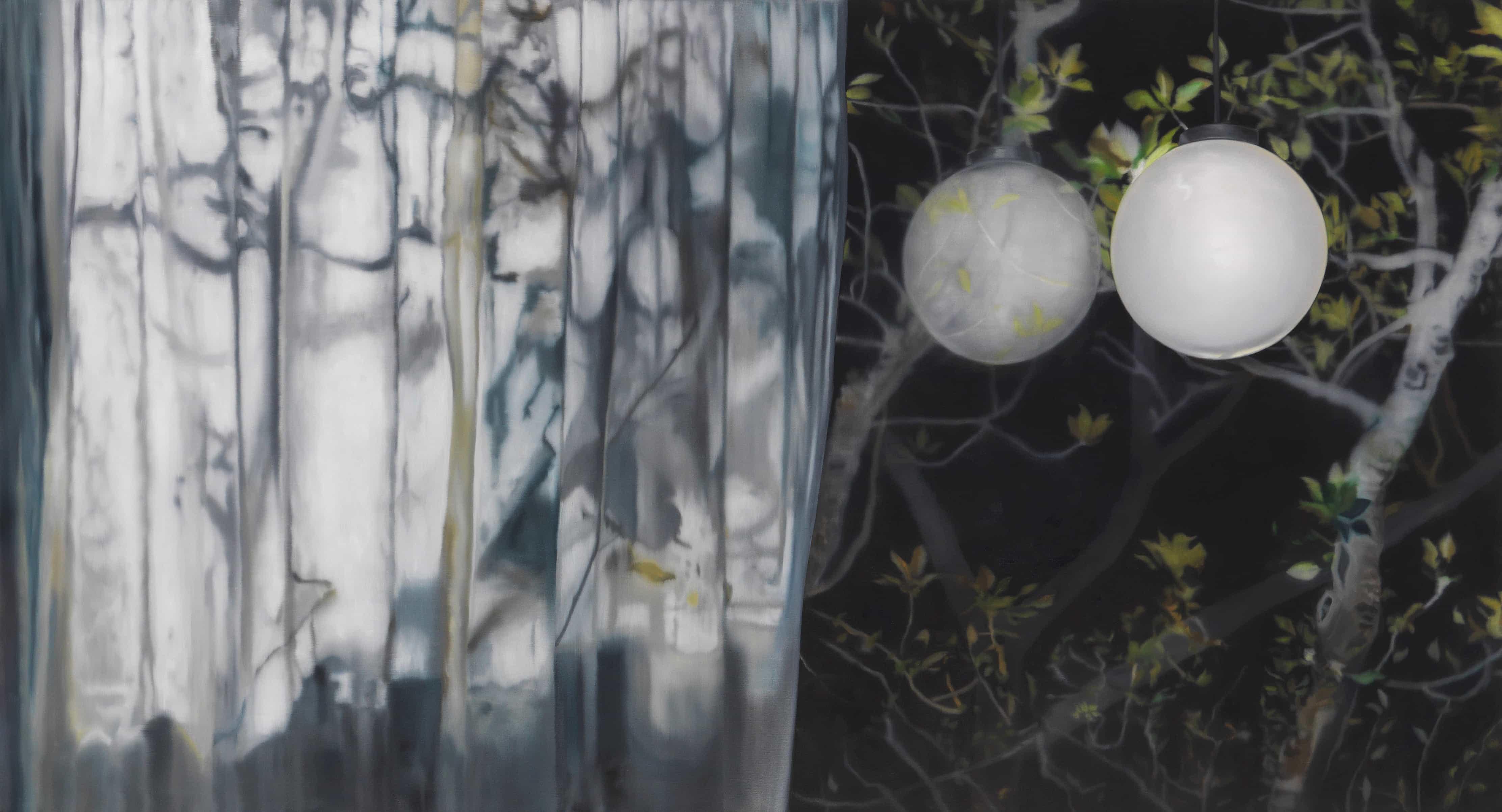 """Karin Kneffel, """"Ohne Titel"""" (Fensterbilder), 2008, Öl auf Leinwand Nachverkaufspreis: € 72.000"""