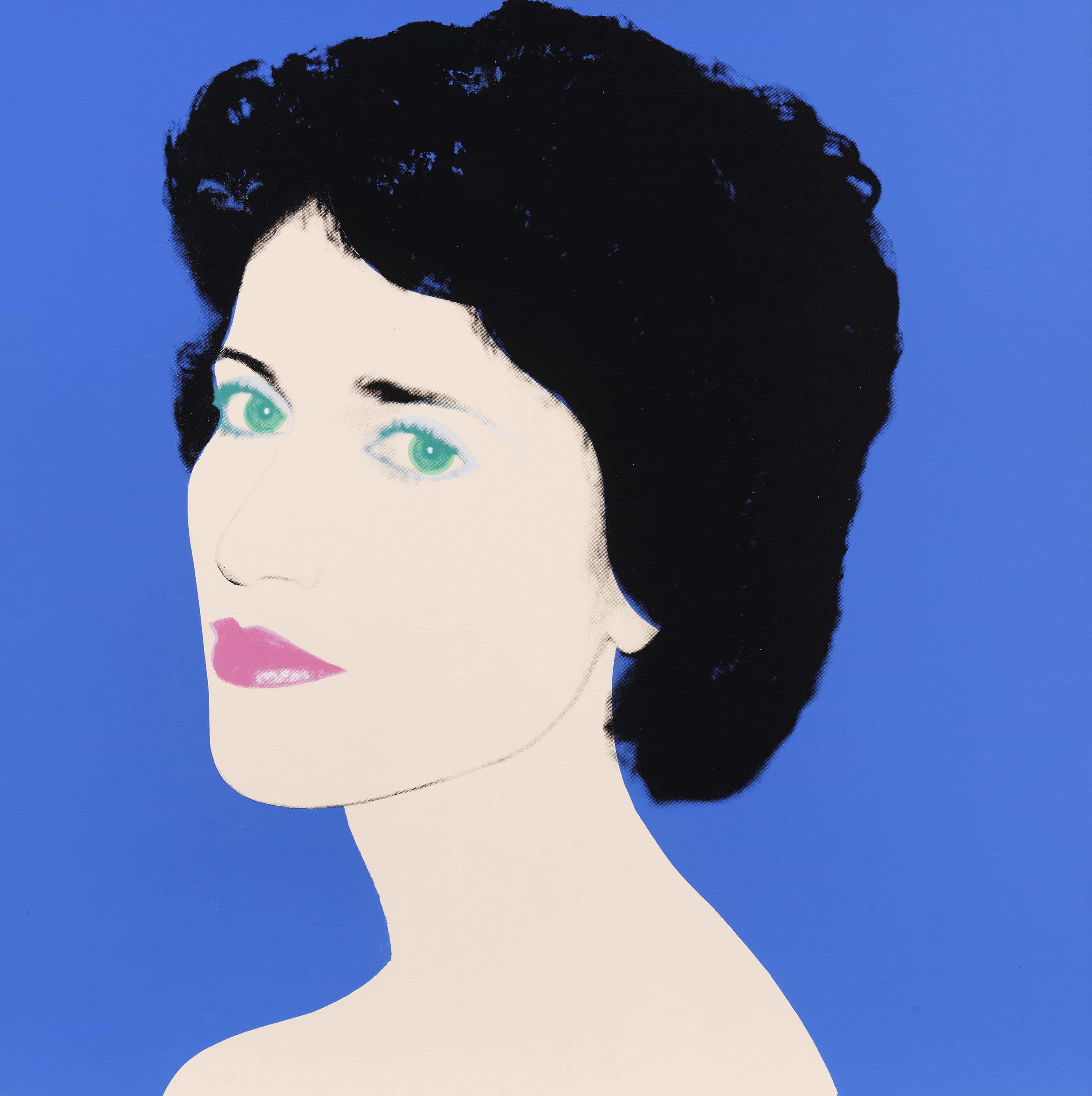 "Andy Warhol, ""Portrait of a Lady"" (Enid Beal), 1985. Schätzung: € 400.000 Ergebnis: € 1.125.000"